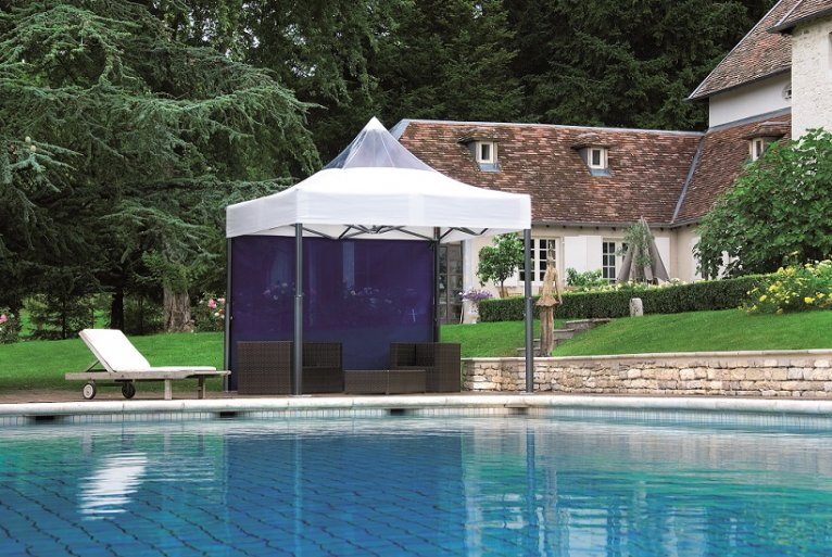 couverture terrasse piscine haut de gamme