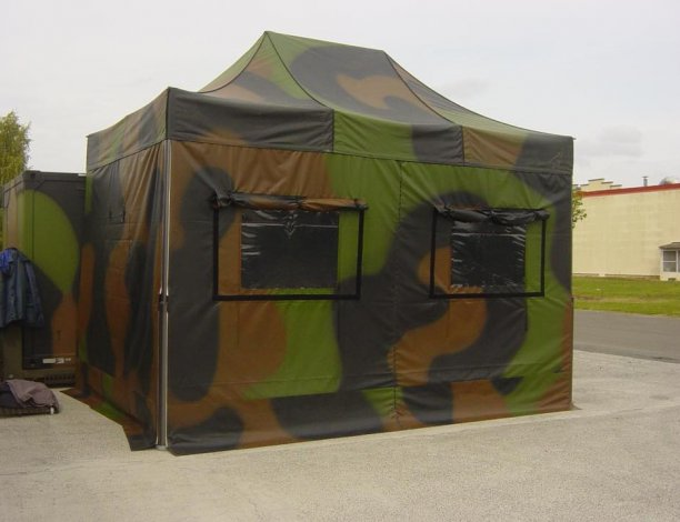 tente barnum militaire
