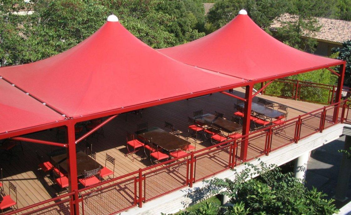 abri terrasse restaurant