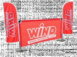barrierres bannière publicitaire sea banner montpellier